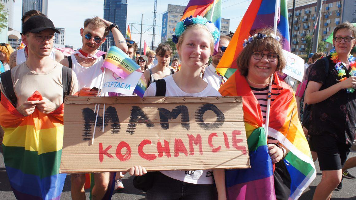 Udział rodziców w Paradzie Równości