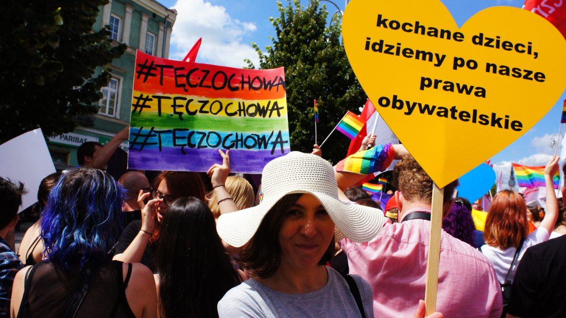 I Marsz Równości w Częstochowie